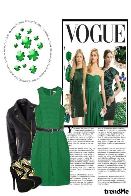 Green Vogue from collection primavera/verão 2012 by Karen  Cordeiro