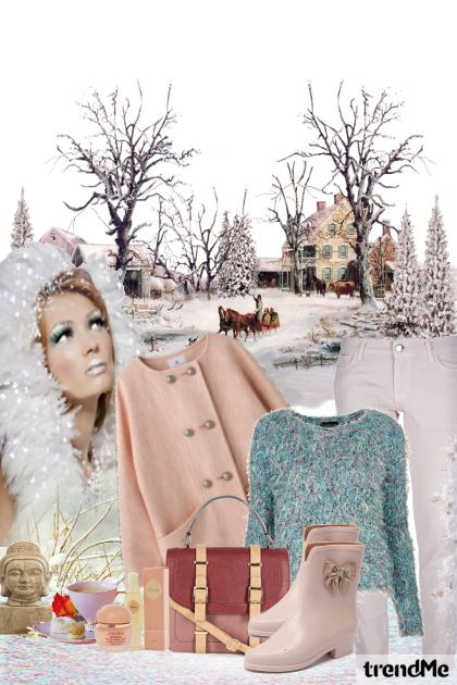 winter feeling from collection Modne svastarije by Trend.girl