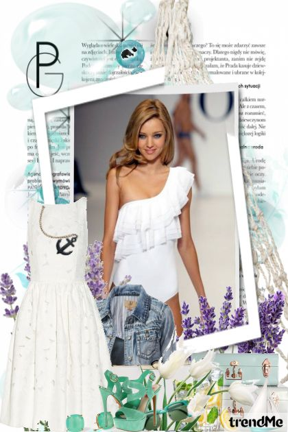 Summer look no. 2 De la colección Fashion por PETRA78