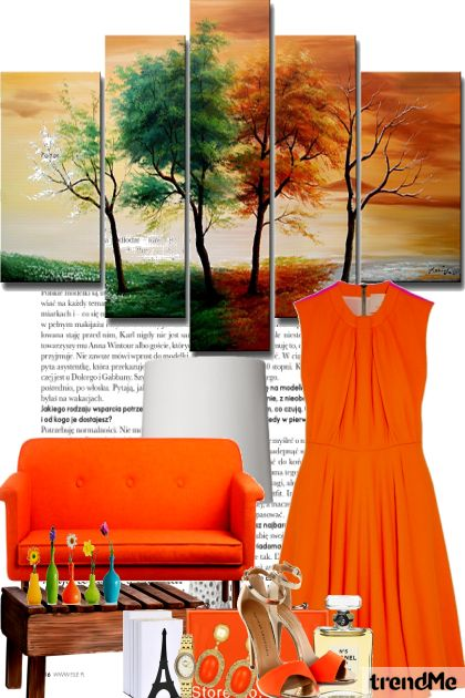 Orange no. 2 De la colección Fashion por PETRA78