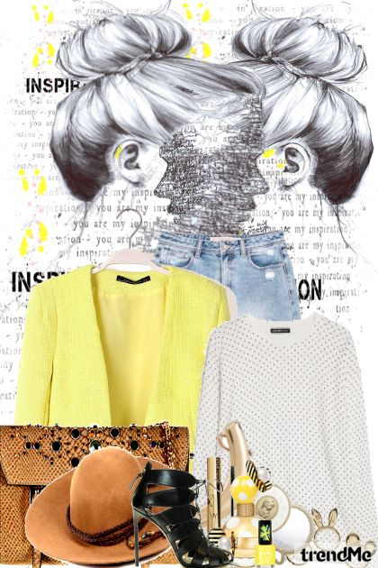 Yellow Inspiration De la colección Fashion por PETRA78