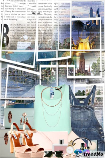 Summer travel from collection Fashion by PETRA78