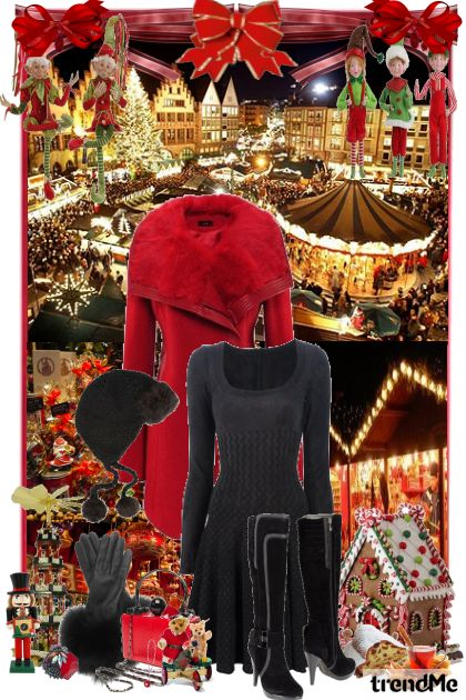 Christmas Market in Germany from collection World Traveler by Erissa