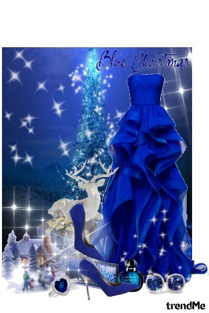 Blue Christmas... from collection Mindream by Erissa