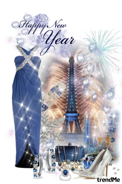 Happy New Year 2013 from collection Bonjour ♥ Paris by Erissa
