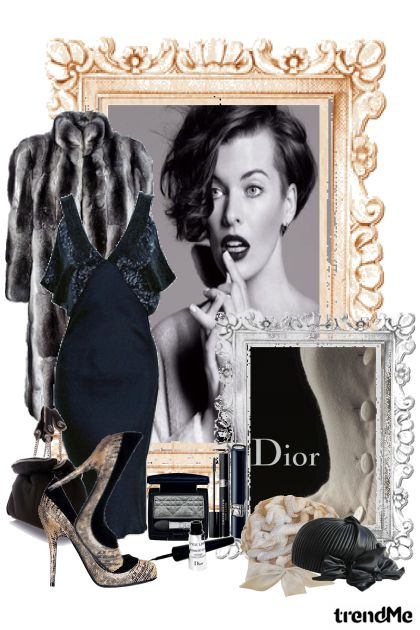 Christian Dior ~Vintage gorgeous winter~ from collection B・R・A・N・D by Erissa