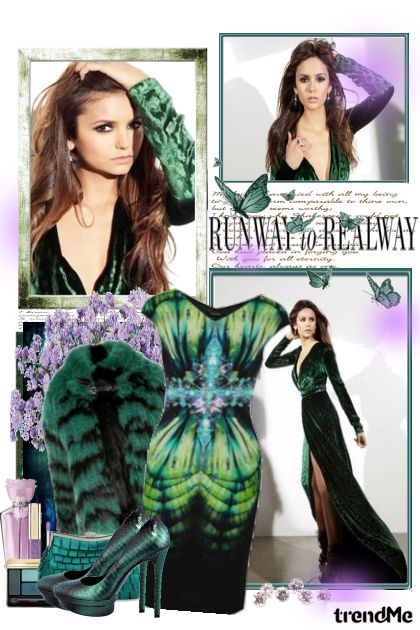 RUNWAY to REALWAY from collection Girl's Thing by Erissa