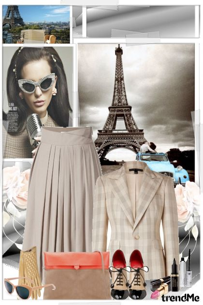 Outfit for Paris from collection Jesen/Zima 2012 by mira