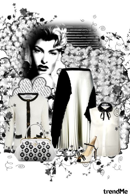 Black and White combination from collection l by mira