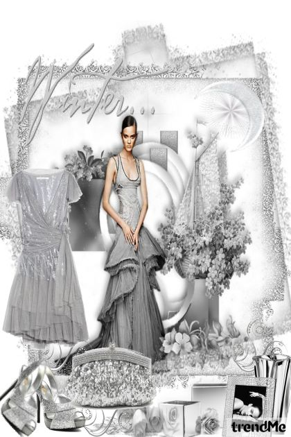 Silver Glamour from collection Silver by Betty Gaither-Harmon