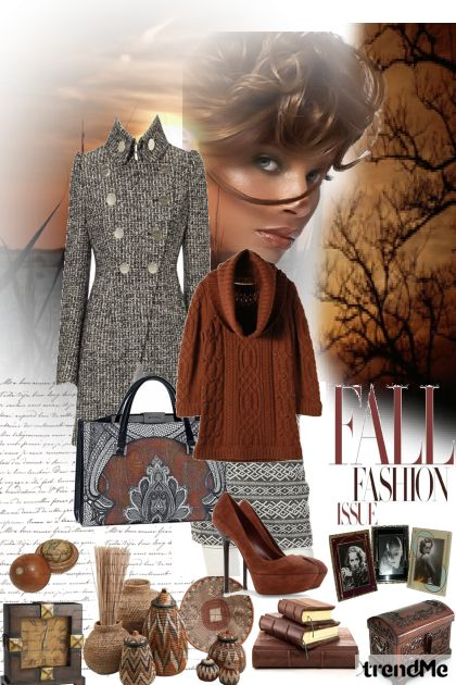 Fall Fashion from collection Autumn/Winter 2012 by Betty Gaither-Harmon
