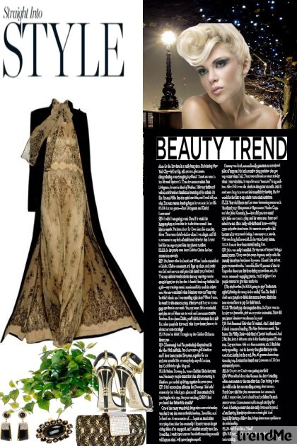 M's Style from collection Autumn/Winter 2012 by Betty Gaither-Harmon