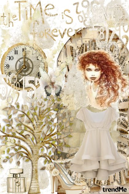 Time is Forever from collection Autumn/Winter 2012 by Betty Gaither-Harmon