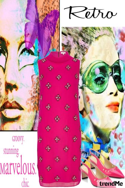 60's Retro dalla collezione Retro di Betty Gaither-Harmon