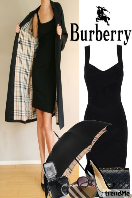 Loving Burberry dalla collezione I am Woman di Betty Gaither-Harmon