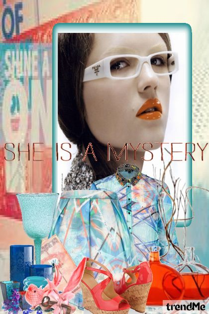 She's A Mystery from collection Let's B Creative by Betty Gaither-Harmon