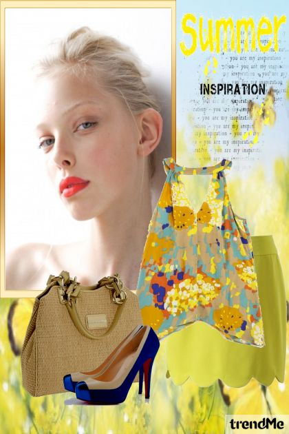 Summer Inspiration 2014 from collection Summer 2014 by Betty Gaither-Harmon