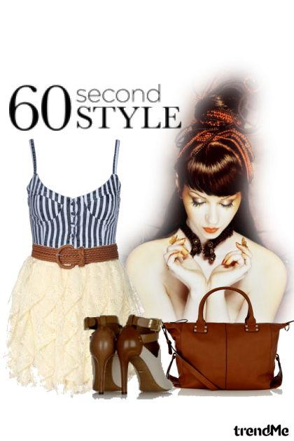 60 Second Style dalla collezione Fashion2014 di Betty Gaither-Harmon