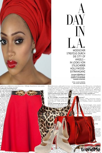 A Day In L.A. from collection Summer 2014 by Betty Gaither-Harmon