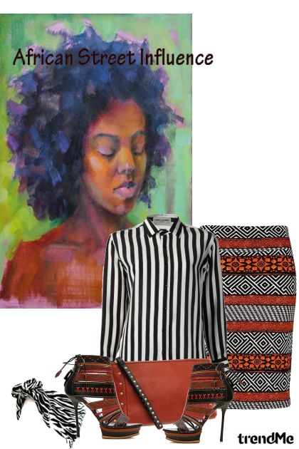 African Street Influence-#2 De la colección African Street Influence por Betty Gaither-Harmon