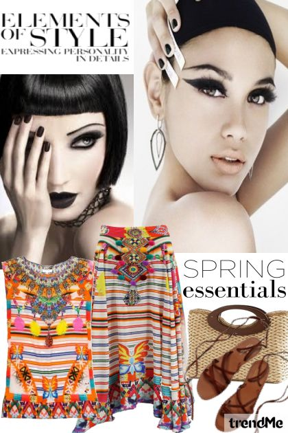 Spring Essentials from collection Fashion2014 by Betty Gaither-Harmon
