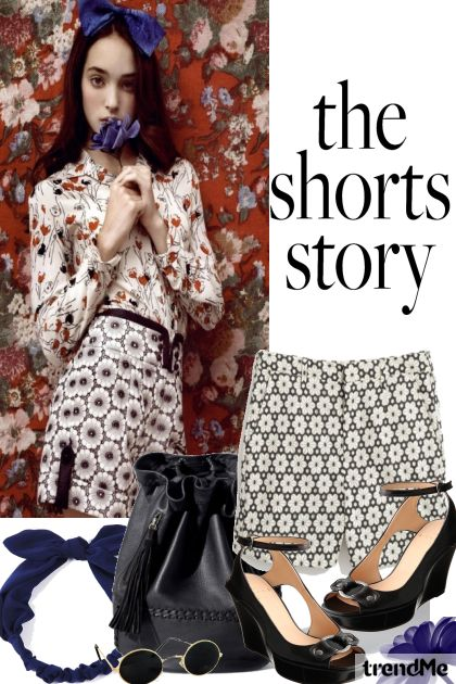 The Shorts Story 2014-#1 from collection Summer 2014 by Betty Gaither-Harmon