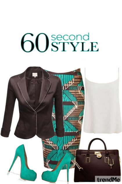 60 Second Style 2014 from collection Fashion2014 by Betty Gaither-Harmon