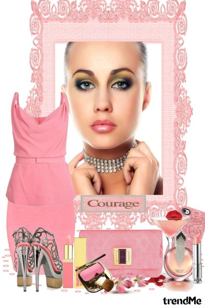 Courage-The Story Of Breast Cancer  aus der Kollektion Summer 2014 von Betty Gaither-Harmon