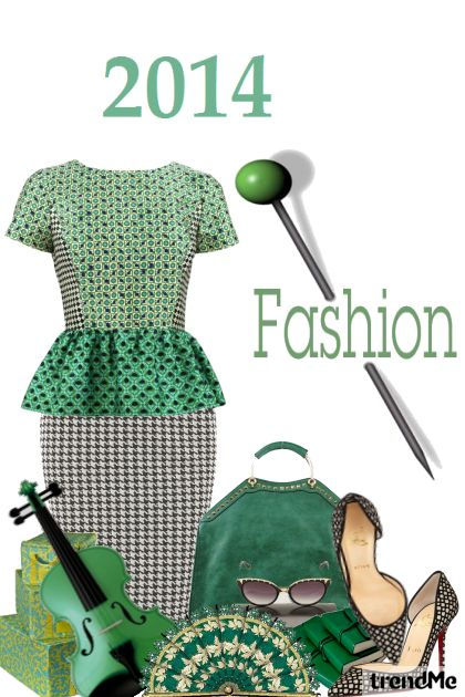 2014 fashion#1 aus der Kollektion Fashion2014 von Betty Gaither-Harmon