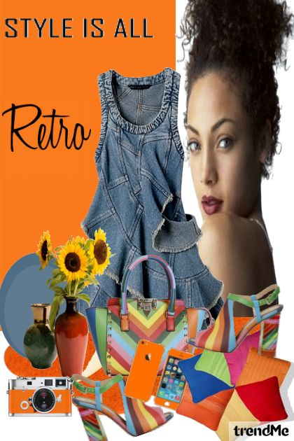 Style Is All Retro aus der Kollektion Fashion2014 von Betty Gaither-Harmon
