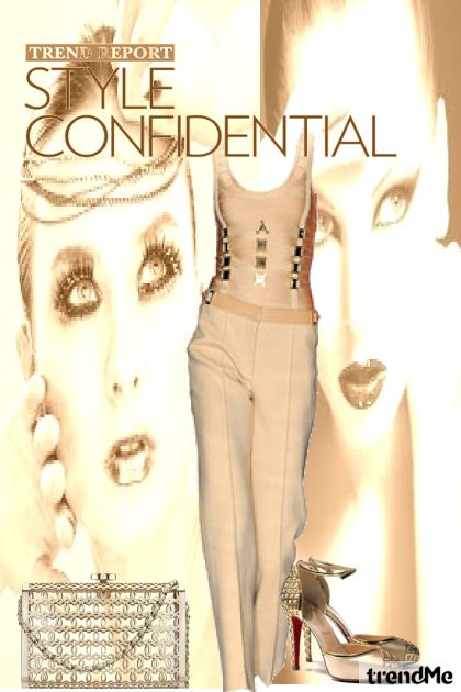 Trend Report-Style Confidential from collection Carolina Girls by Betty Gaither-Harmon