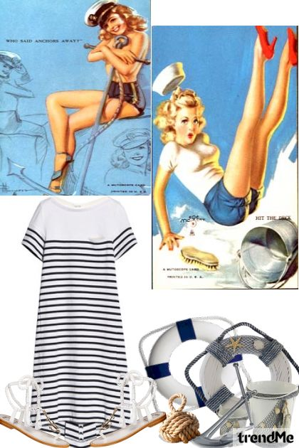 Sail On-2014 De la colección Summer 2014 por Betty Gaither-Harmon