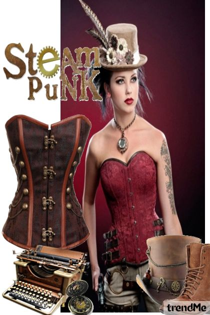 Steam =Punk from collection Winter Collection 2015-2015 by Betty Gaither-Harmon