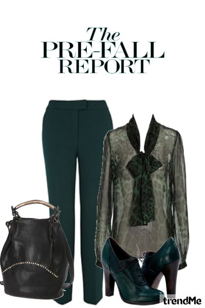 Prefall Report-1 from collection Fashion2014 by Betty Gaither-Harmon