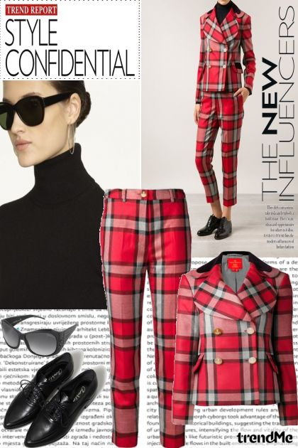Trend Report#1 iz kolekcije Menswear Inspired od Betty Gaither-Harmon
