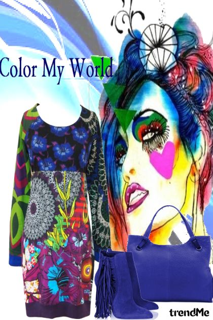 Color My World#1 aus der Kollektion Let's B Creative von Betty Gaither-Harmon