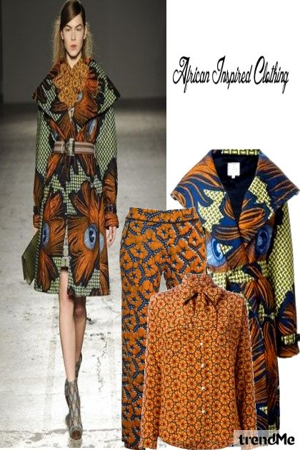 African Inspired Clothing#2 from collection African Street Influence by Betty Gaither-Harmon
