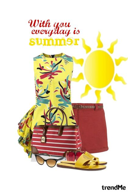 Everyday is Summer -2015 from collection Summer Fun by Betty Gaither-Harmon