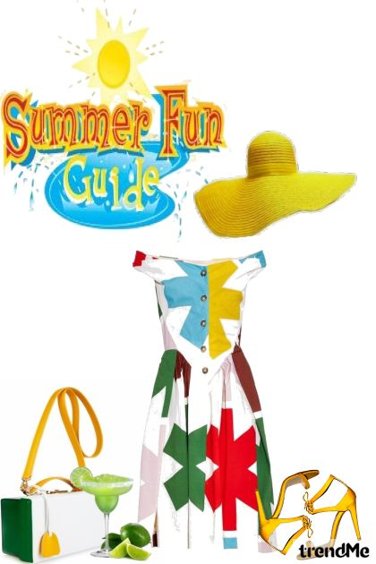 Summer Fun Guide from collection Carolina Girls by Betty Gaither-Harmon