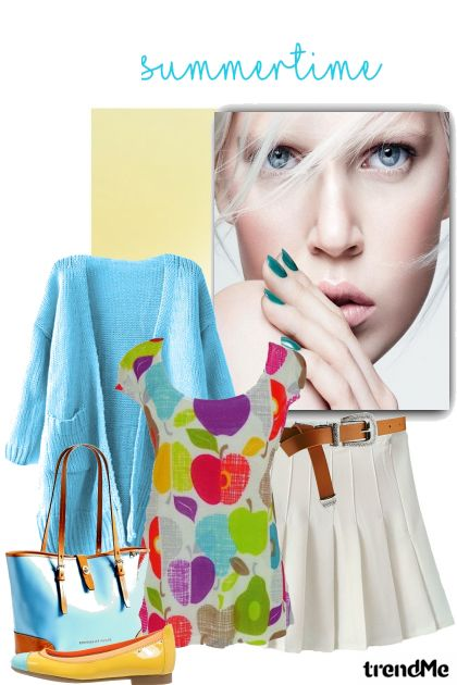 Summertime Fashion#1 De la colección Carolina Girls por Betty Gaither-Harmon