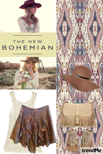 Bohemian Style#1 from collection The Bohemian by Betty Gaither-Harmon