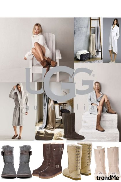 Uggs from collection Dare To Be Different by Betty Gaither-Harmon