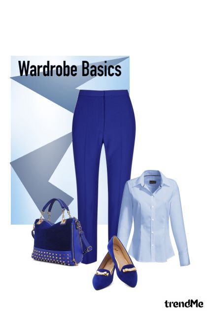 Wardrobe Basics-Nov 2015#1 from collection Winter Collection 2015-2015 by Betty Gaither-Harmon