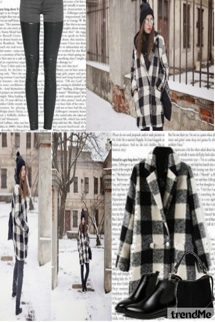 Winter 2015-Street#1 De la colección Winter 2015-2016 por Betty Gaither-Harmon