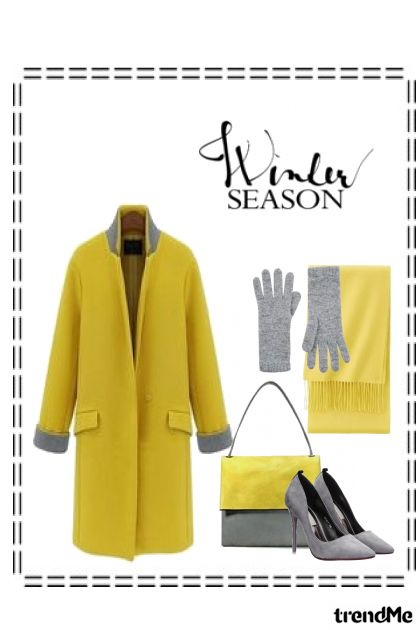 Winter Season from collection Winter 2015-2016 by Betty Gaither-Harmon