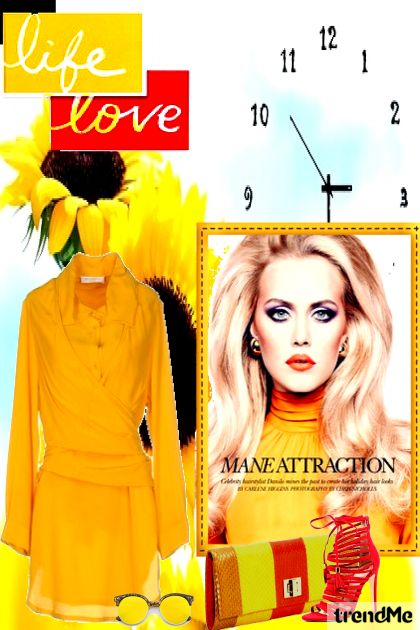 Mane Attraction from collection Dare To Be Different by Betty Gaither-Harmon
