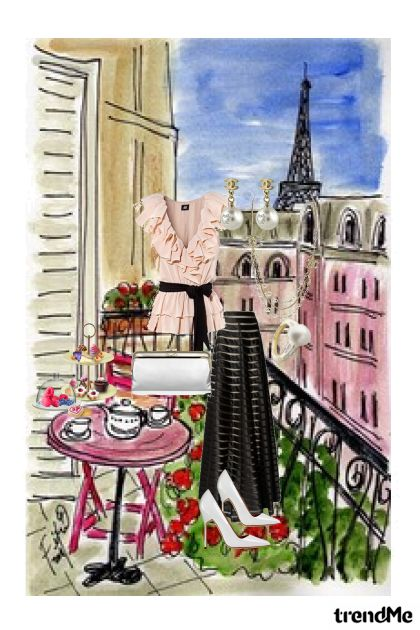 Tea Time from collection Paris by Alexia B. Barbie