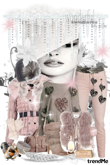 Pink Day from collection Winter Idyll by Ywette