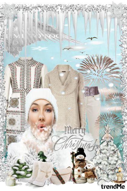 White Lady of Winter from collection Winter Idyll by Ywette