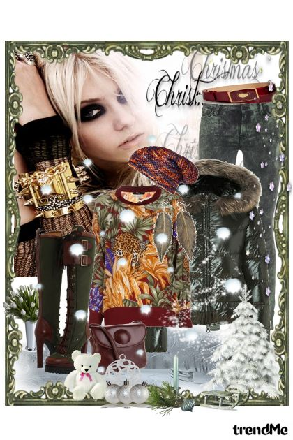 Snowning from collection Christmas by Ywette